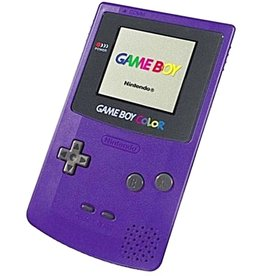 GameBoy Color Game Boy Color (Grape, New Screen)