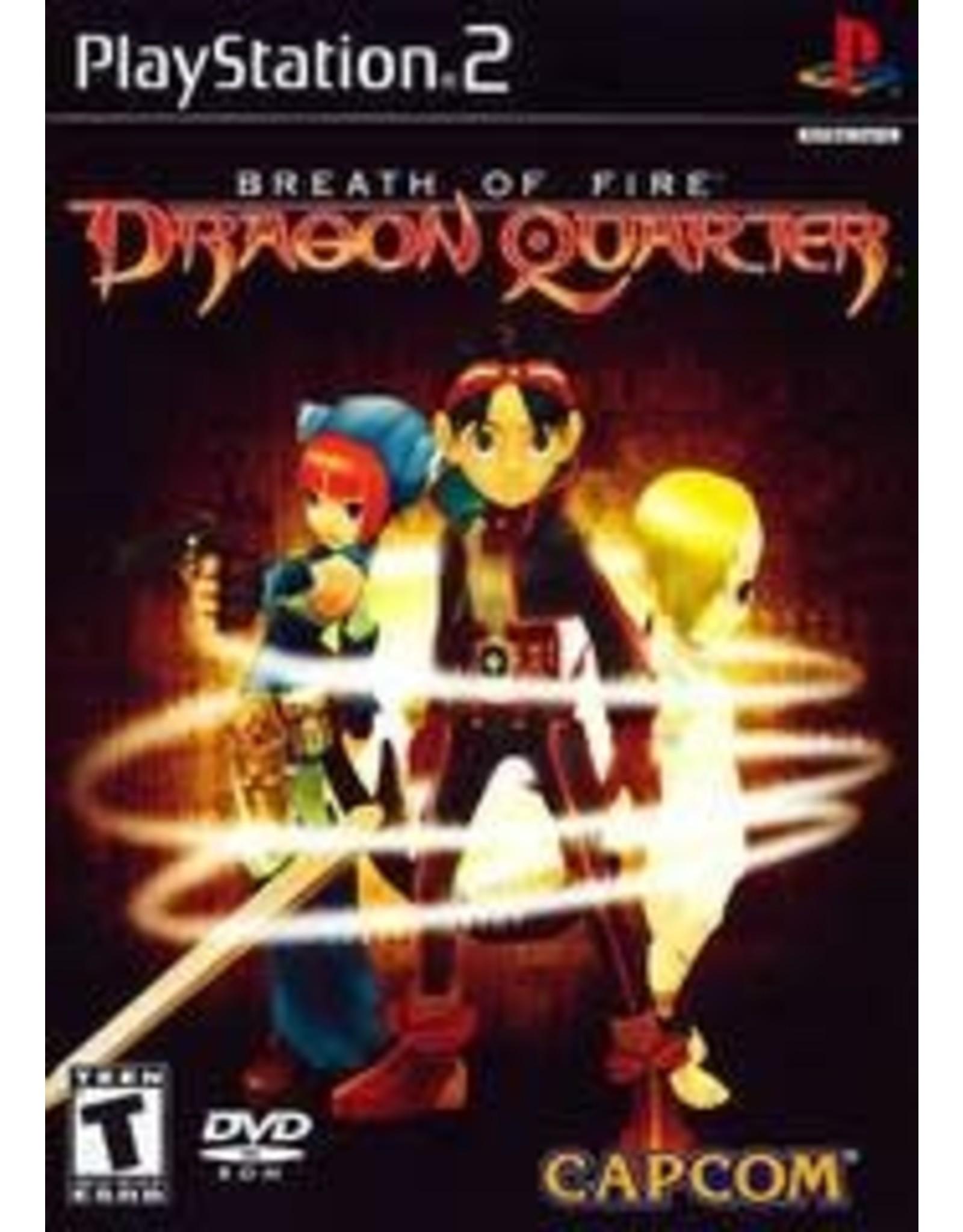 Playstation 2 Breath of Fire Dragon Quarter (CiB)