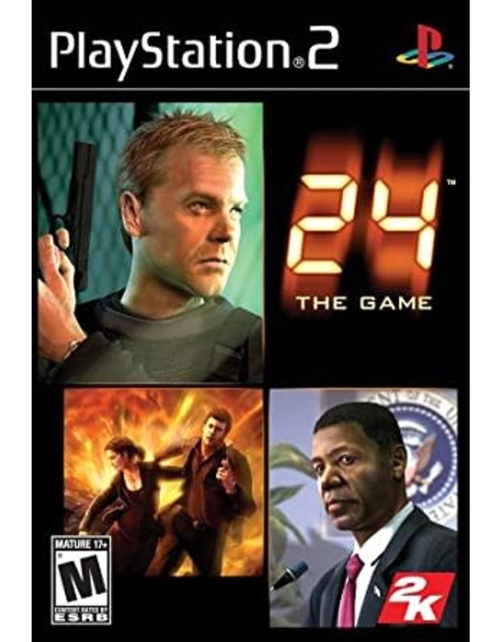 Playstation 2 24 the Game (CIB)
