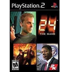 Playstation 2 24 the Game (No Manual)