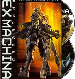 Anime Appleseed Ex-Machina Collector's Edition Steelbook (USED)