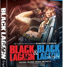 Anime Black Lagoon Season One and Season Two (USED)