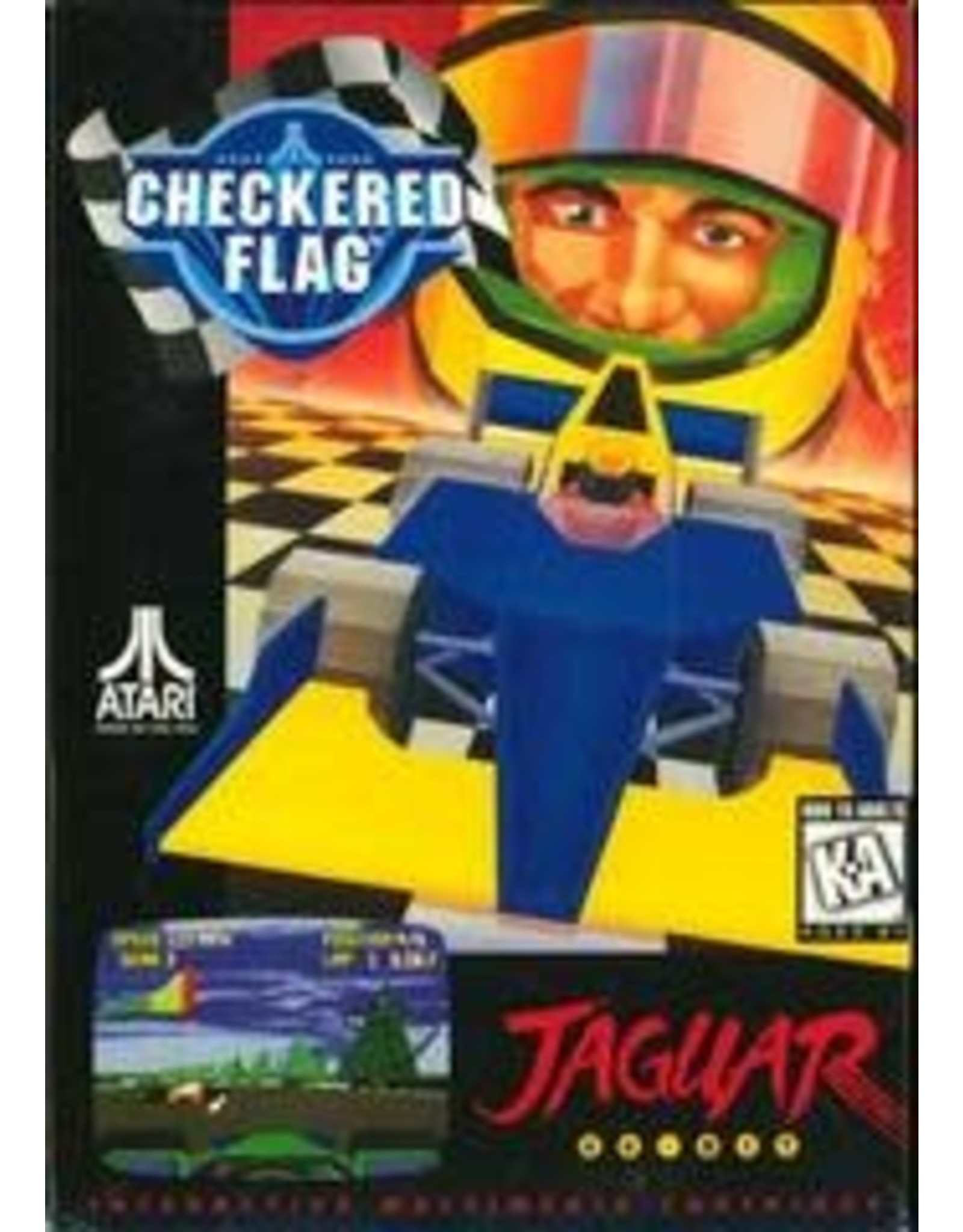 Jaguar Atari Jaguar Console *Includes Checkered Flag (CiB) and 2 Controllers)
