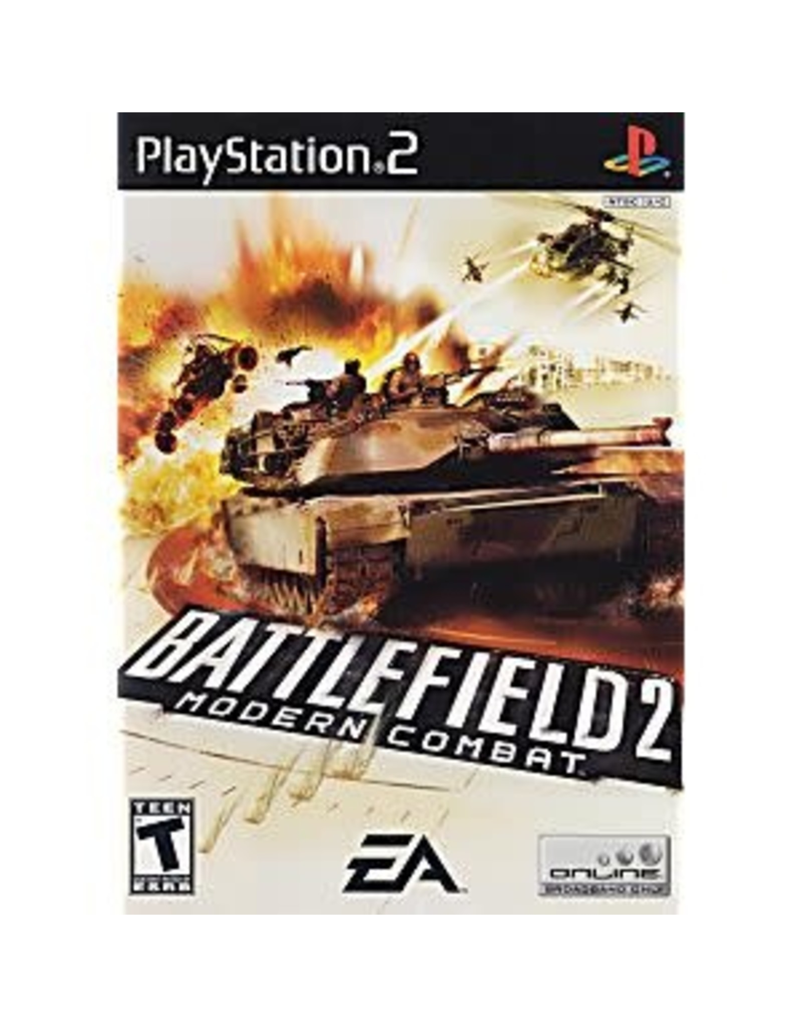 Playstation 2 Battlefield 2 Modern Combat (No Manual)