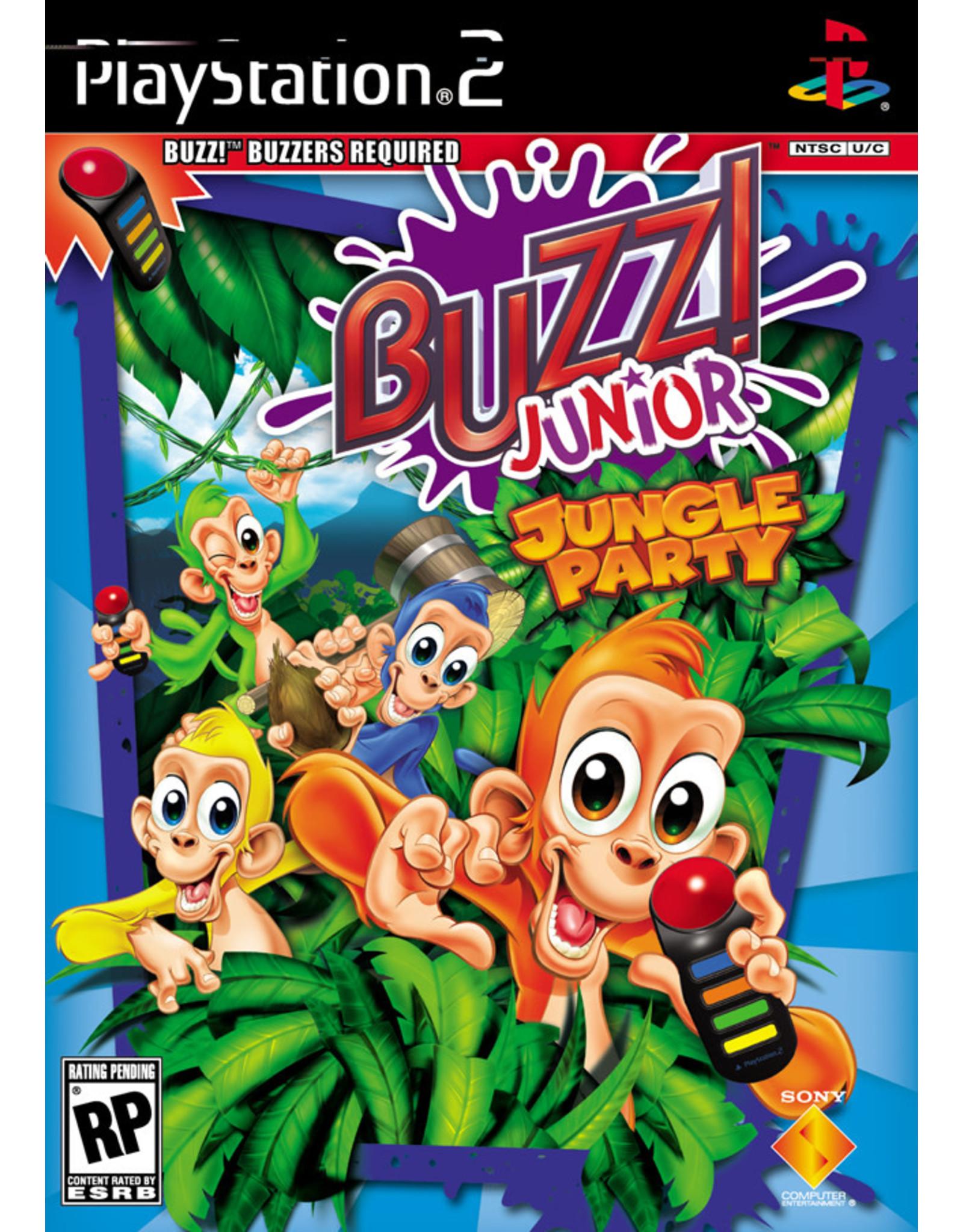 Playstation 2 Buzz Junior Jungle Party (CiB)