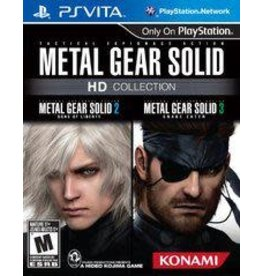 Playstation Vita Metal Gear Solid HD Collection (Cart Only)