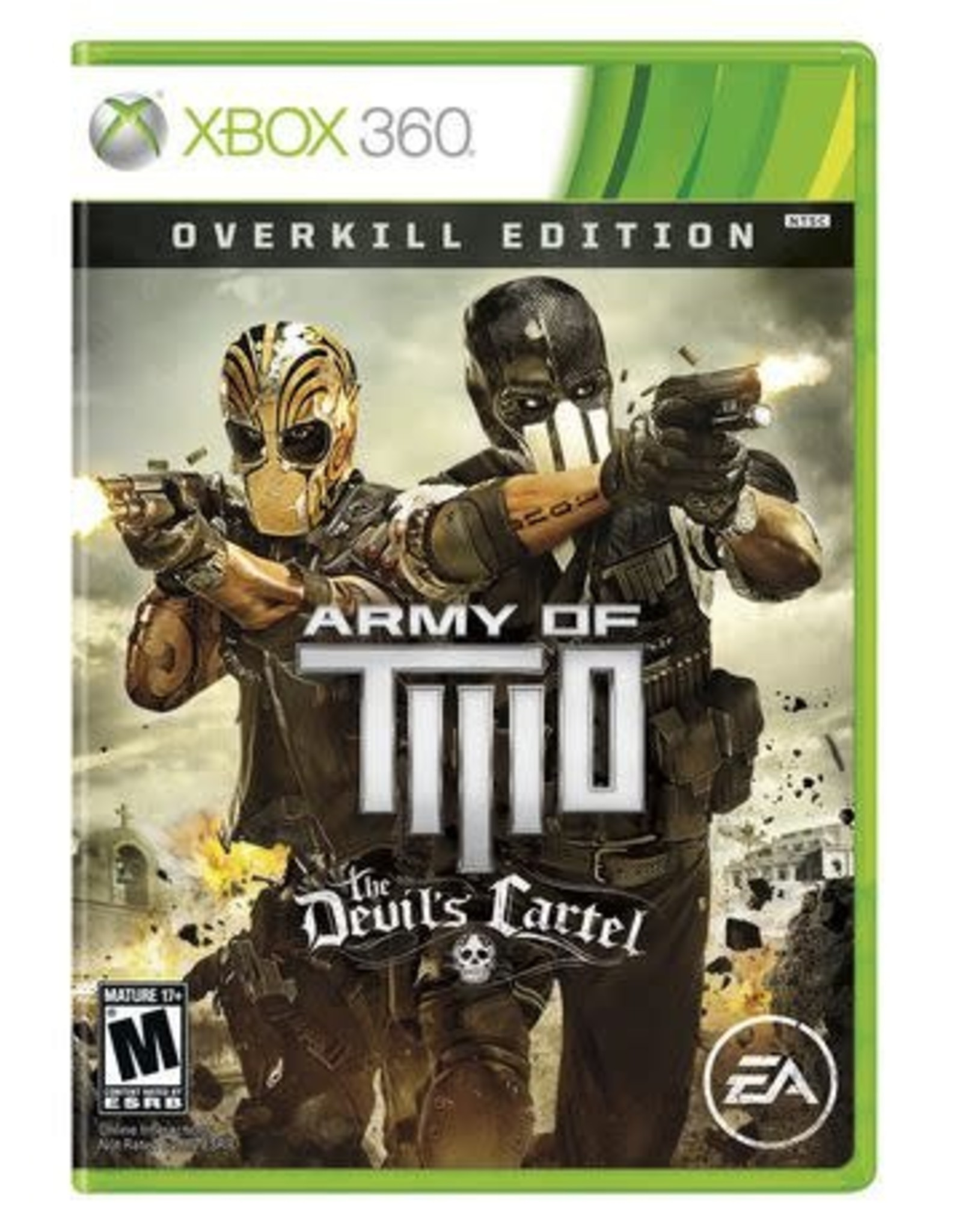 Xbox 360 Army of Two: The Devil's Cartel Overkill Edition (DLC Not Included)