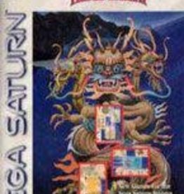 Sega Saturn Shanghai Triple Threat (CIB)