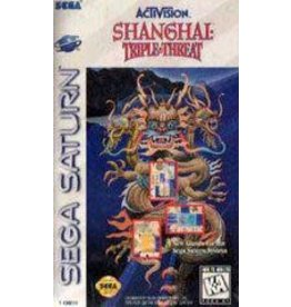 Sega Saturn Shanghai Triple Threat (CIB)