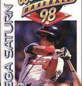 Sega Saturn World Series Baseball 98 (CiB)