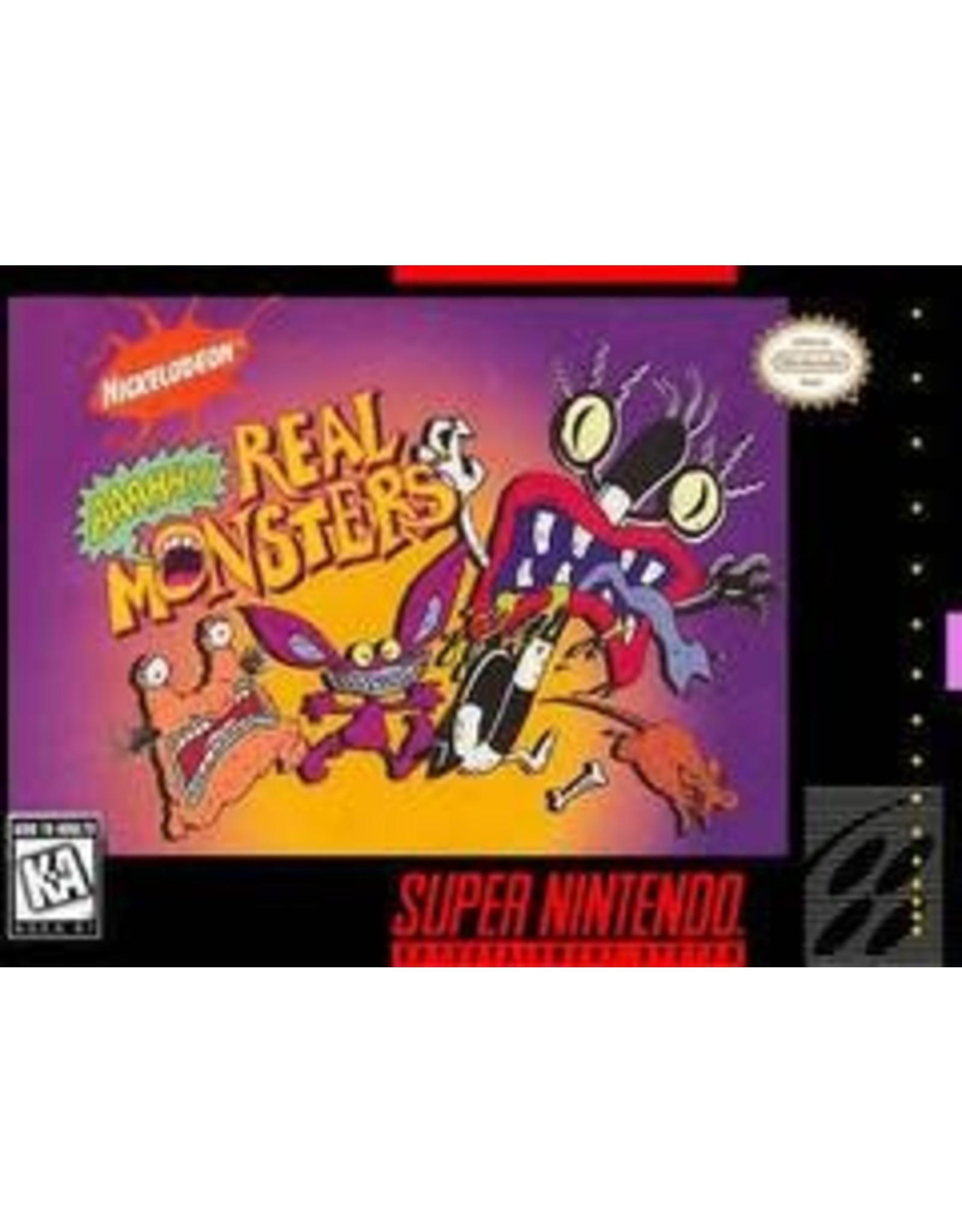 Super Nintendo AAAHH Real Monsters (CiB)