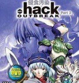 Playstation 2 .hack Outbreak (Water Damaged Sleeve, CiB)