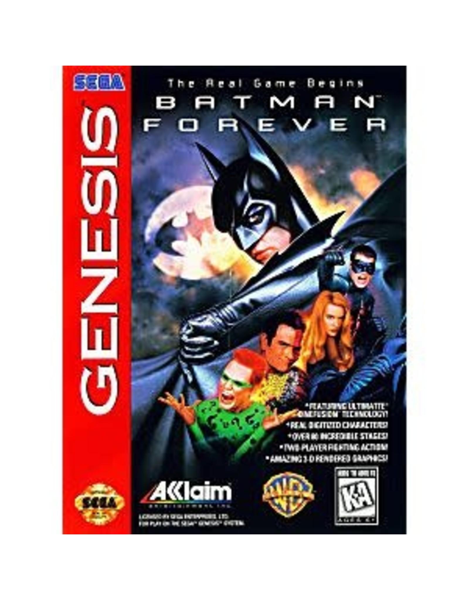 Sega Genesis Batman Forever (Damaged Label, Cart Only)