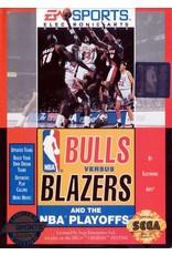 Sega Genesis Bulls Vs Blazers and the NBA Playoffs (Cart Only)