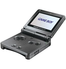 GameBoy Advance Gameboy Advance SP (Onyx, AGS 101, Scratched Shell)
