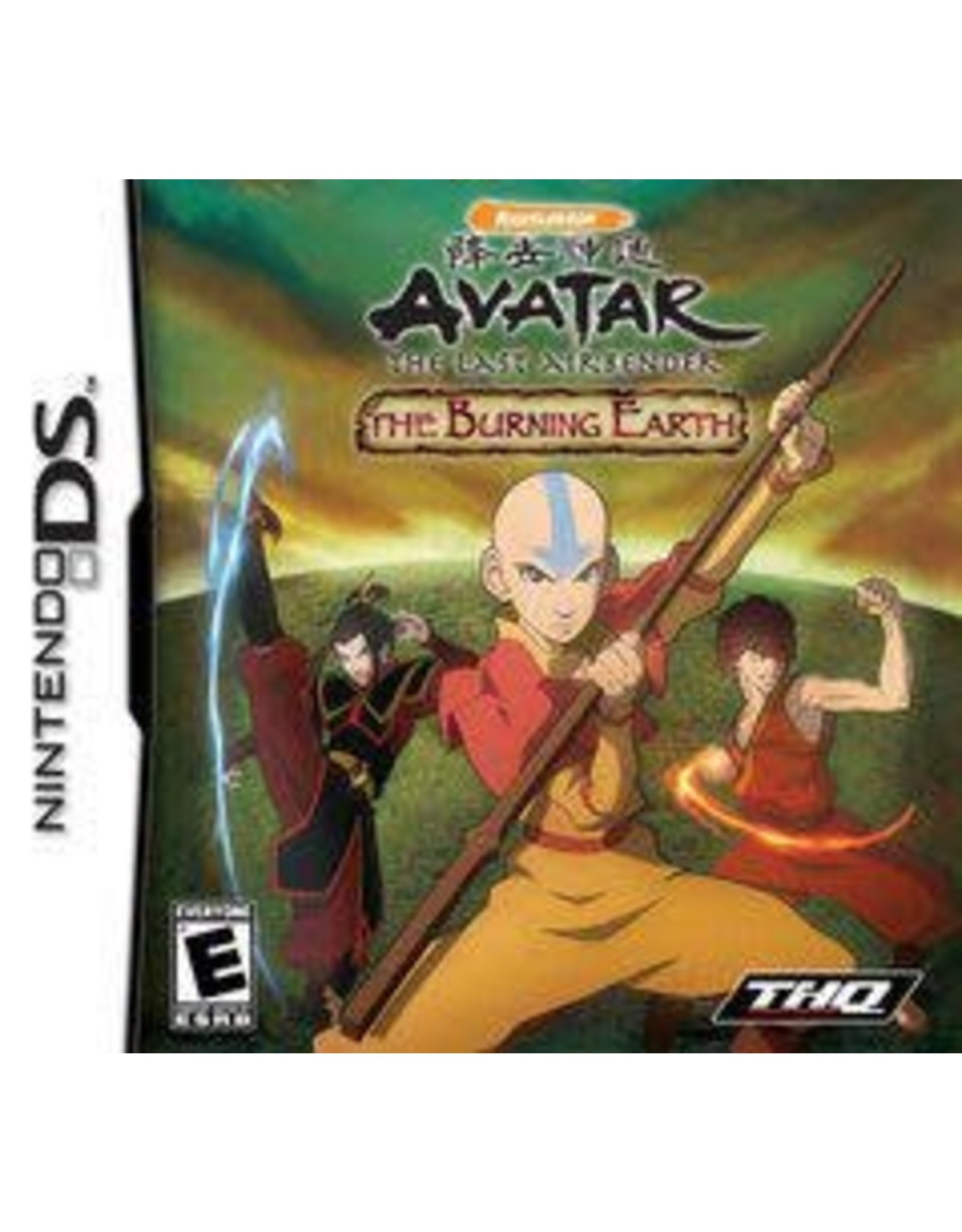 Nintendo DS Avatar The Burning Earth (Cart Only)