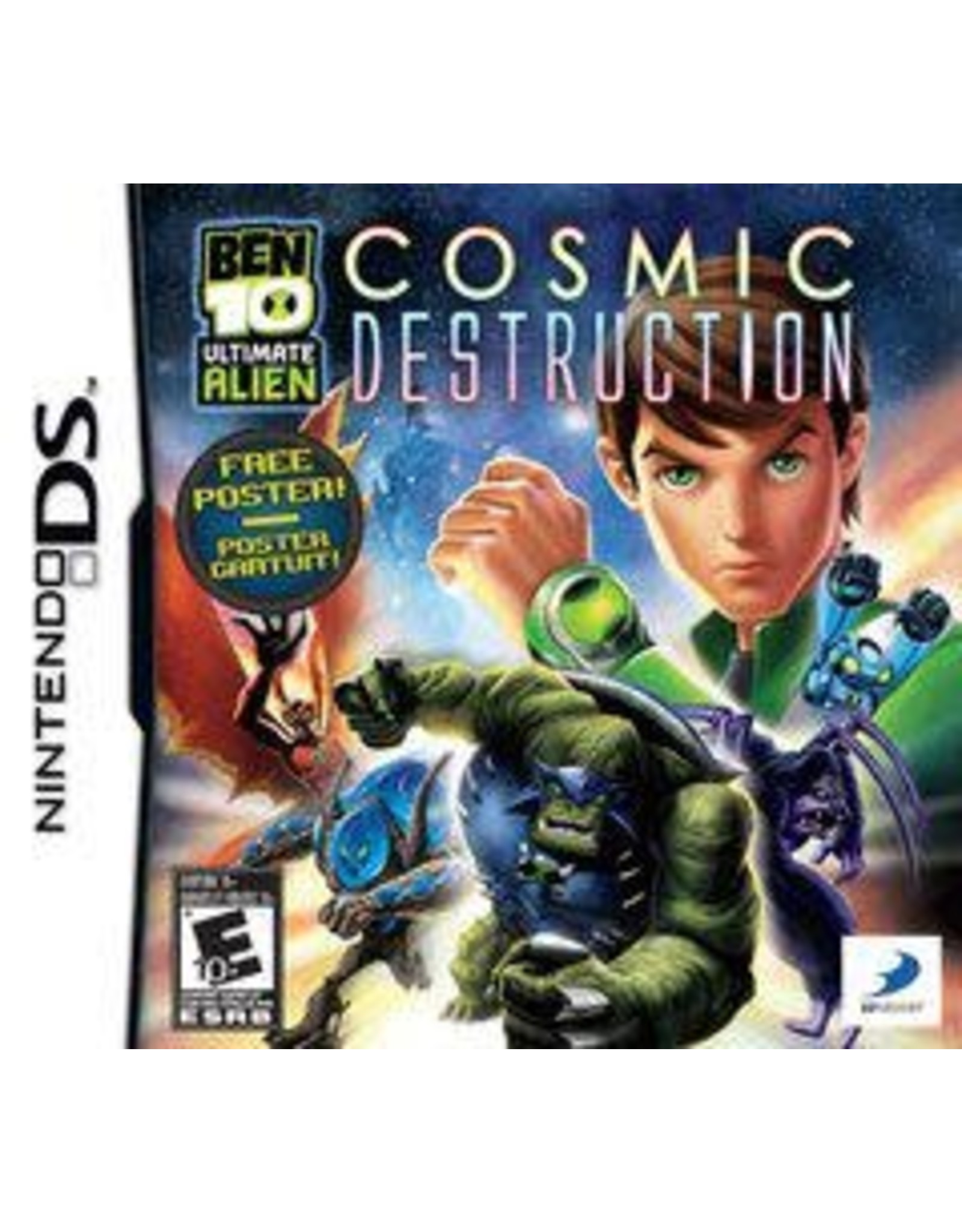 Nintendo DS Ben 10: Ultimate Alien Cosmic Destruction