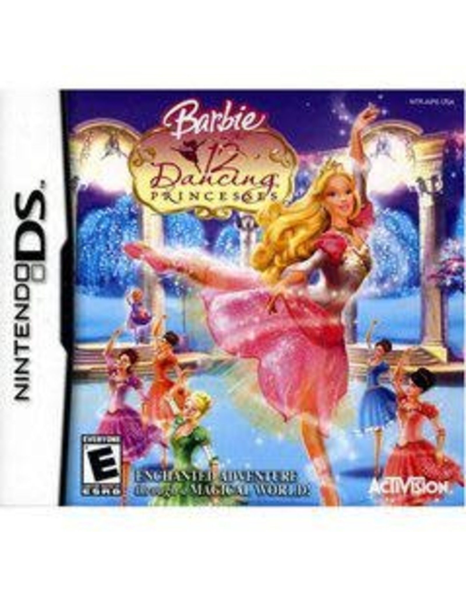 Nintendo DS Barbie 12 Dancing Princesses