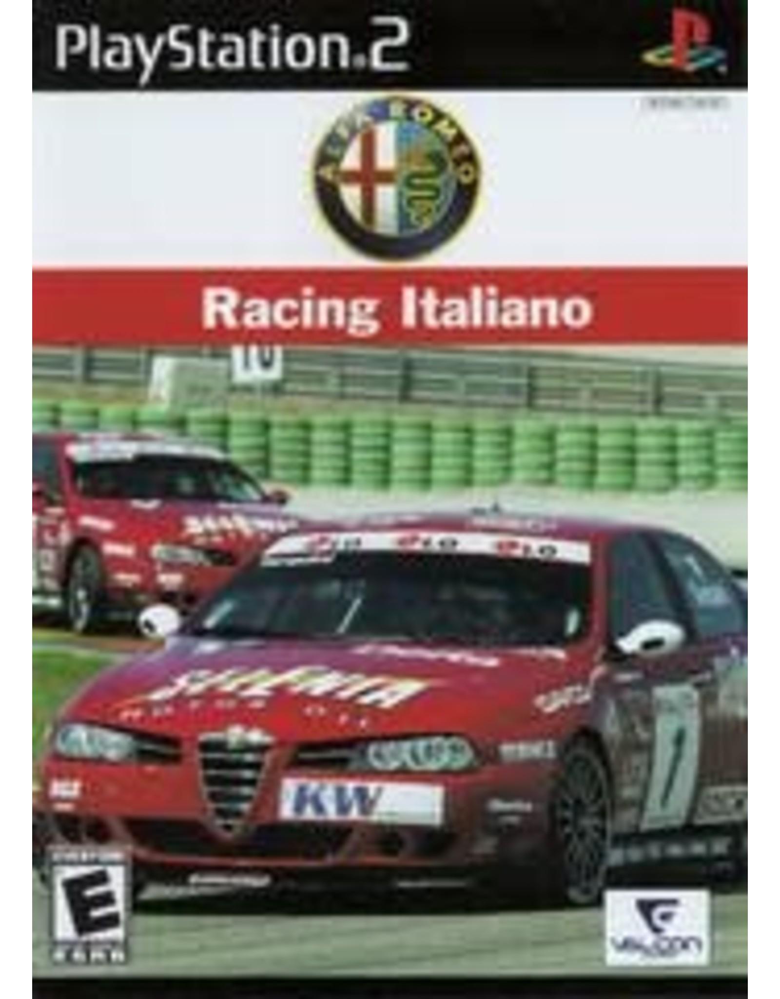 Playstation 2 Alfa Romeo Racing Italiano (CiB)