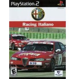 Playstation 2 Alfa Romeo Racing Italiano (CiB)