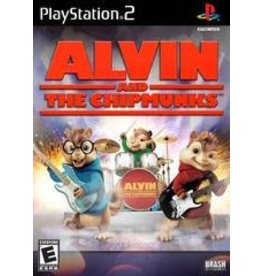 Playstation 2 Alvin And The Chipmunks The Game (CiB)