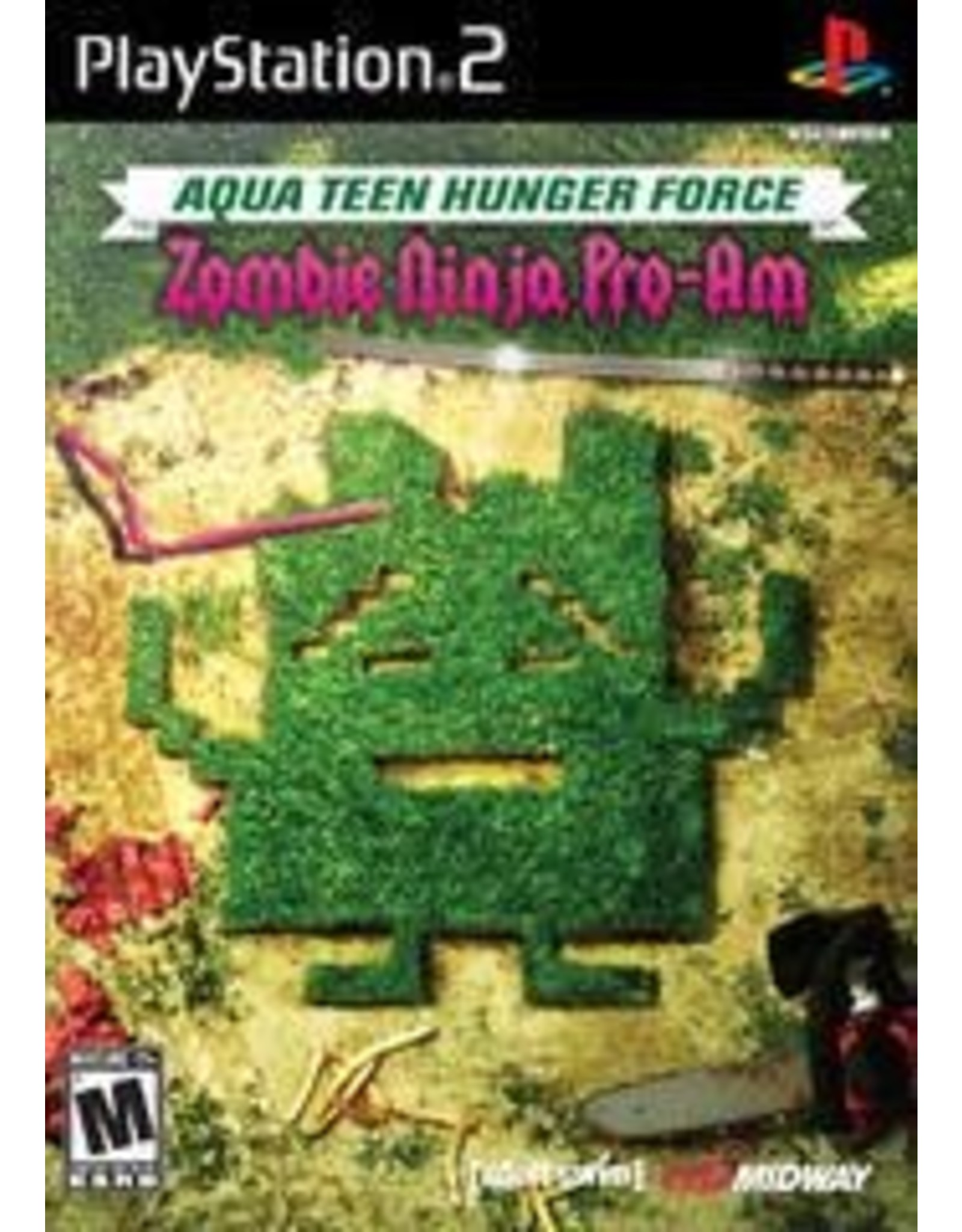 Playstation 2 Aqua Teen Hunger Force Zombie Ninja Pro-Am (CiB)