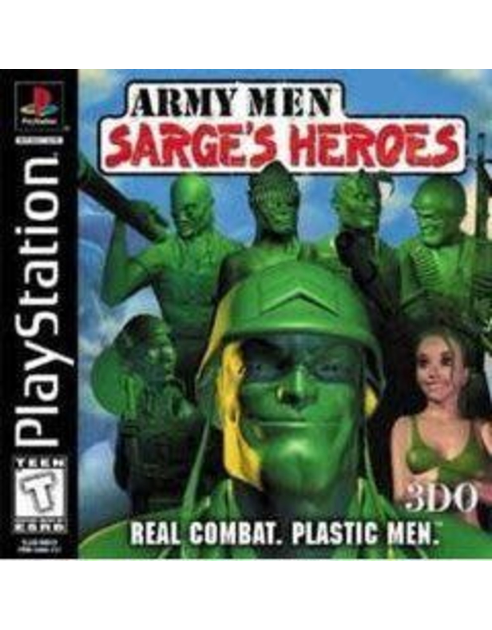 Playstation Army Men Sarge's Heroes (No Manual)