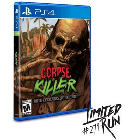 Playstation 4 Corpse killer 25th Anniversary Edition (LRG #279)