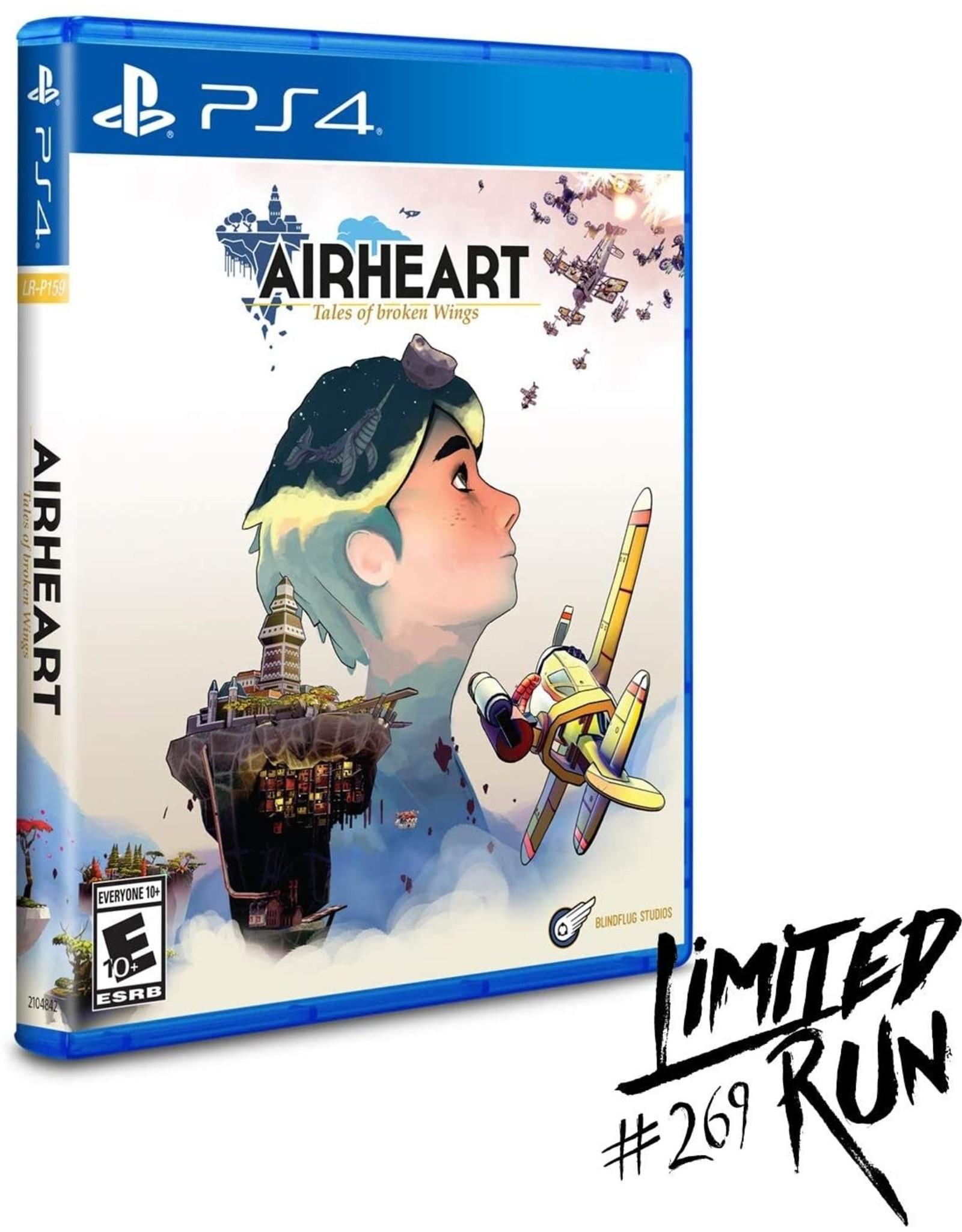 Playstation 4 Airheart Tales of Broken Wings (LRG #269)