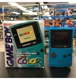 GameBoy Color Game Boy Color Teal (CiB, New Screen)