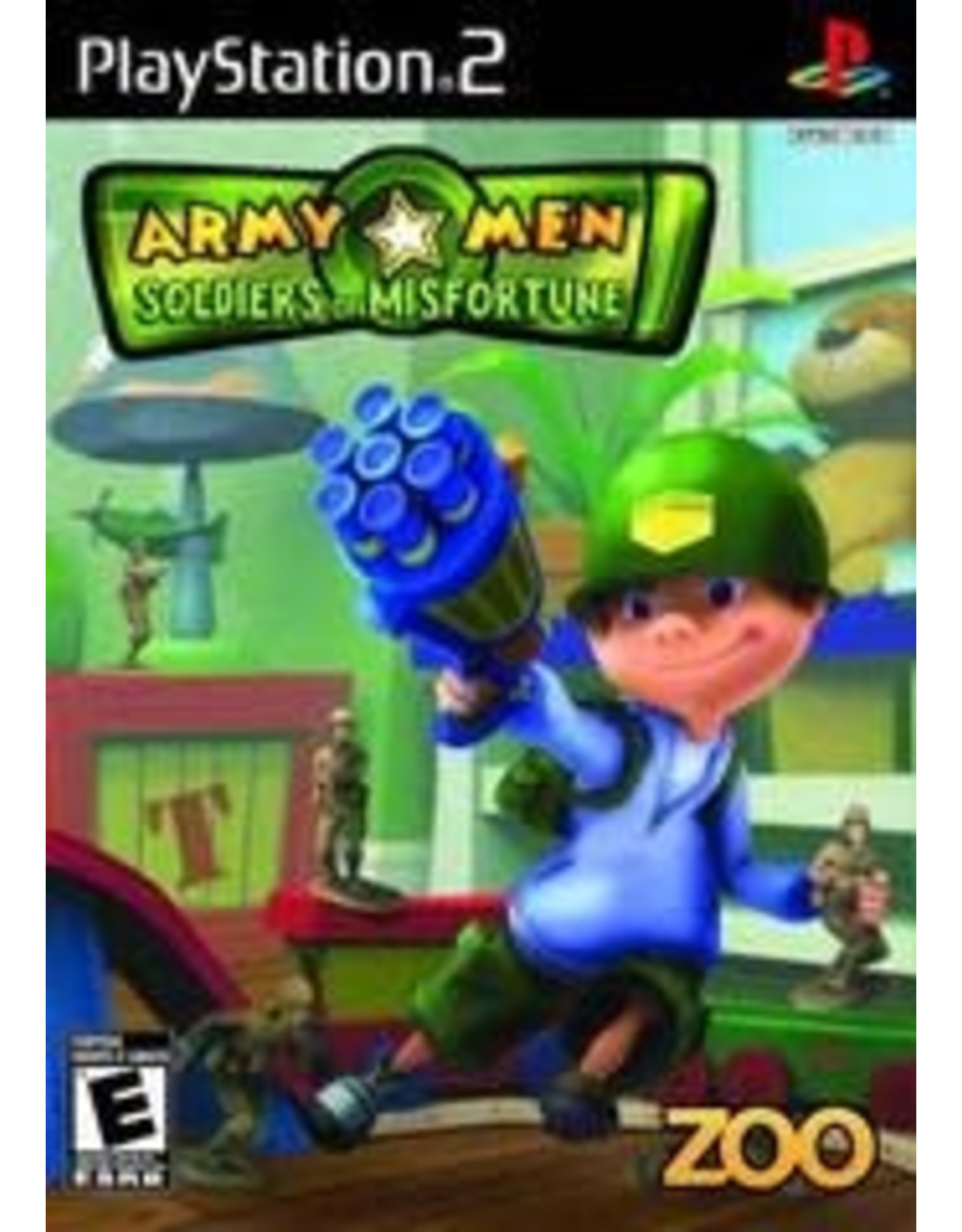 Playstation 2 Army Men Soldiers of Misfortune