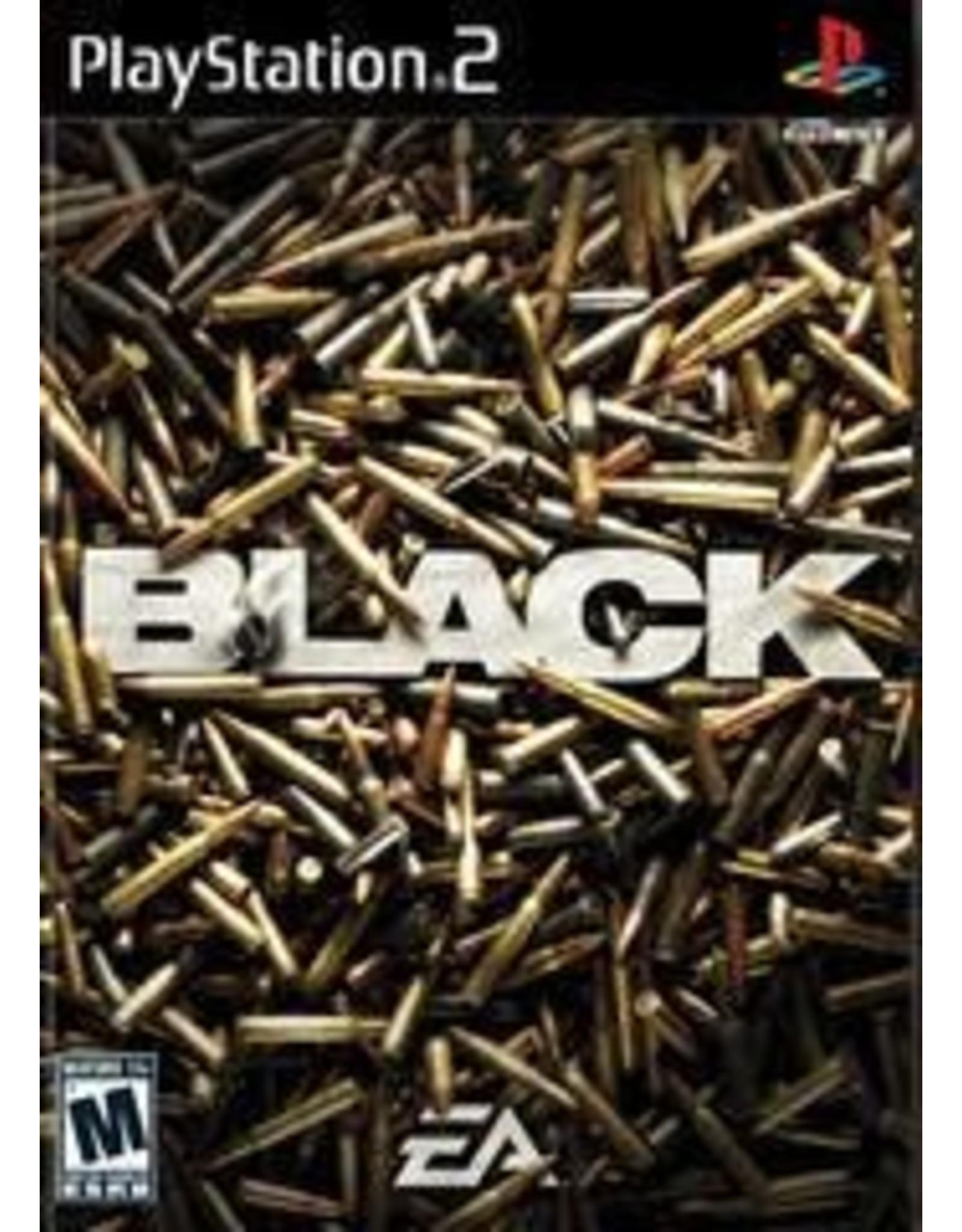 Playstation 2 Black (No Manual)