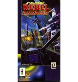 3DO Star Wars: Rebel Assault (CiB, Damaged Box)