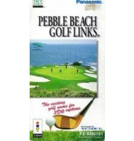 3DO Pebble Beach Golf Links (Jewel Case and Manual)