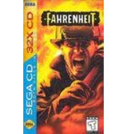 Sega CD Fahrenheit (CiB, No Back Insert)