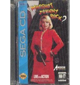 Sega CD Who Shot Johnny Rock (CiB)