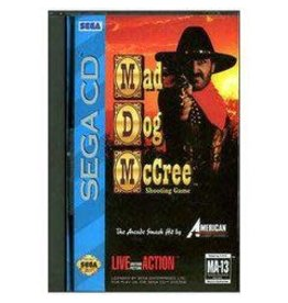 Sega CD Mad Dog McCree (CiB)