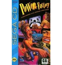 Sega CD Power Factory Featuring C&C Music Factory (CiB)