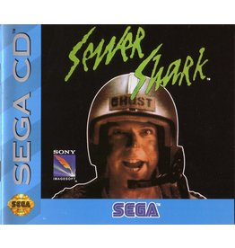 Sega CD Sewer Shark (Jewel Case and Manual)
