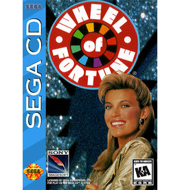 Sega CD Wheel of Fortune (CiB)