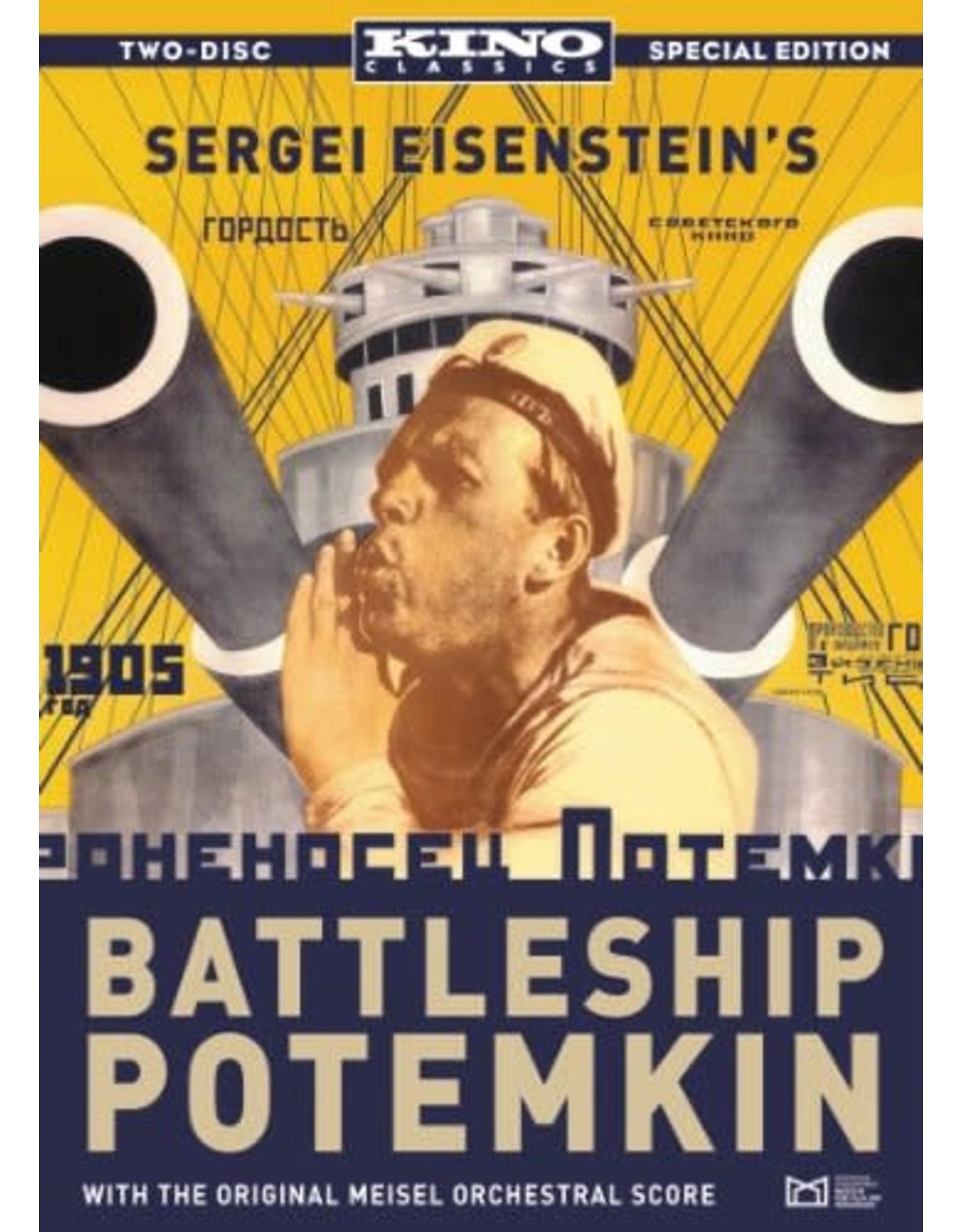 Film Classics Battleship Potemkin (DVD Brand New)