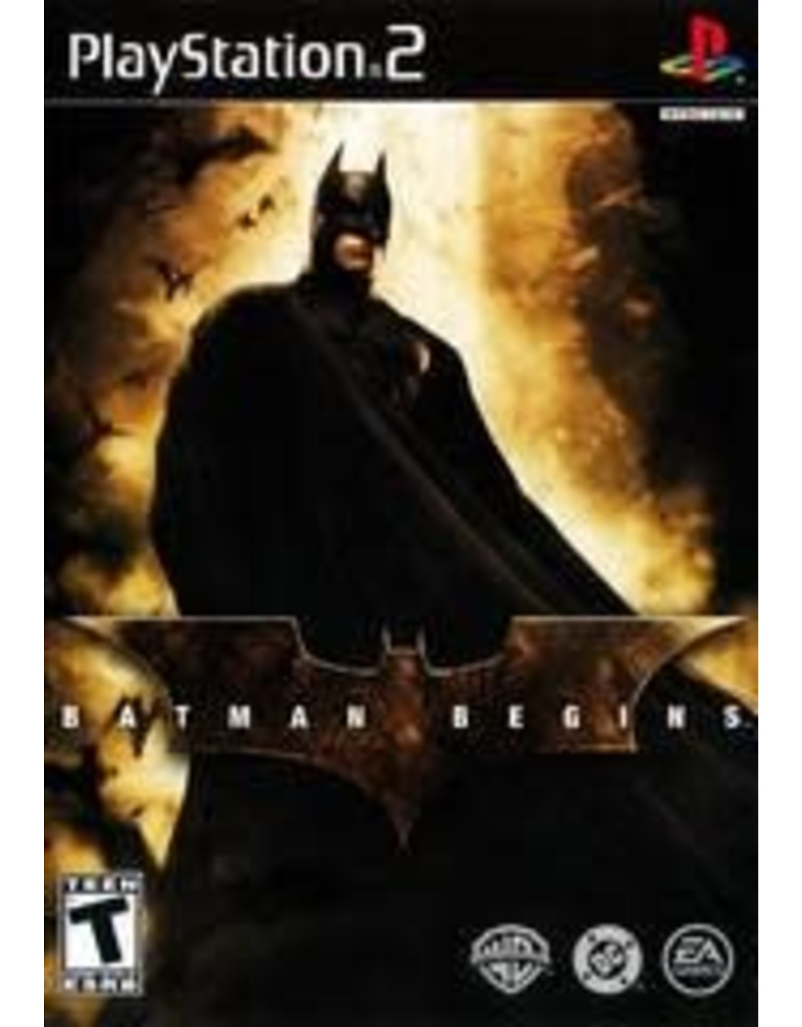 Playstation 2 Batman Begins (CiB)
