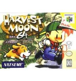 Nintendo 64 Harvest Moon 64 (Damaged Box, No Manual)