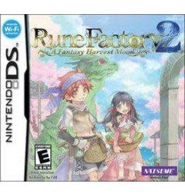 Nintendo DS Rune Factory 2 A Fantasy Harvest Moon (CiB)
