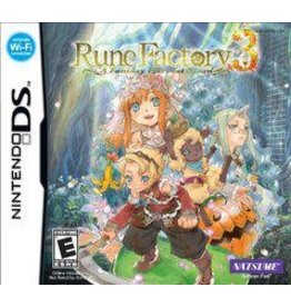 Nintendo DS Rune Factory 3: A Fantasy Harvest Moon (CiB)