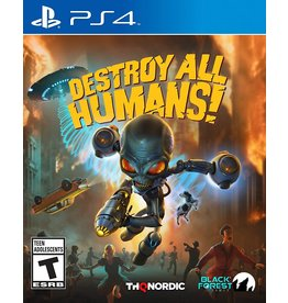Playstation 4 Destroy All Humans (Used)