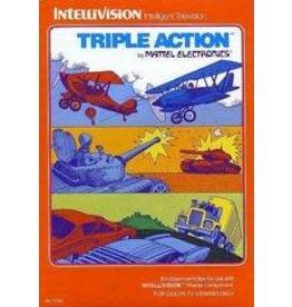 Intellivision Triple Action (Damaged Box, Manual & 1 overlay)