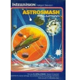 Intellivision Astrosmash (Boxed with Manual & 1 Overlay)