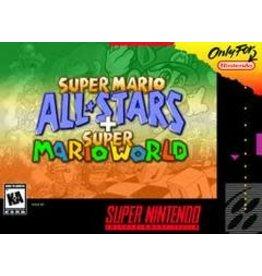 Super Nintendo Super Mario All-stars and Super Mario World (Cart Only)
