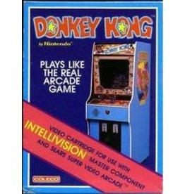 Intellivision Donkey Kong (Damaged Box with Manual)